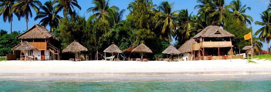 hôtel de luxe à Zanzibar