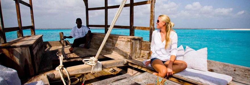 voyager à Zanzibar